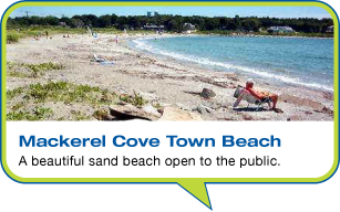 Mackerel Cove Town Beach